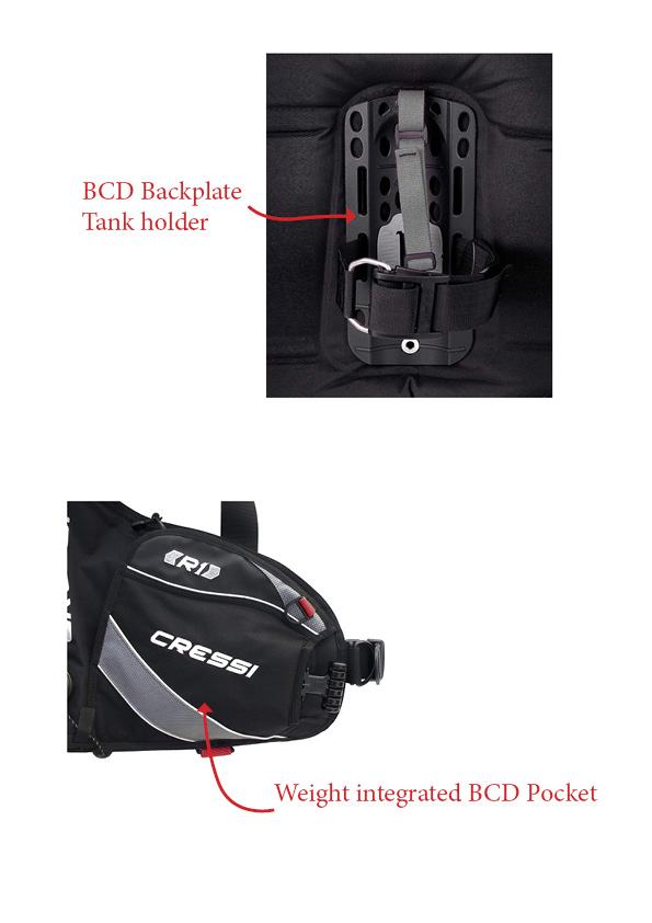 BCD Detail Backplate Weight