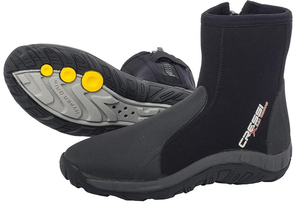 Cressi Lux Dry Boots Bottilons de Plongée 5mm
