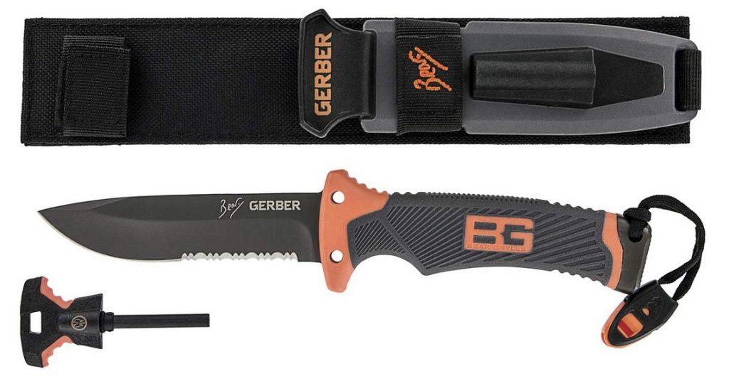 Gerber Outdoor-Messer, Bear Grylls Edition