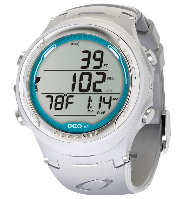 Oceanic Geo 2.0 Air-Nitrox Computer Watch