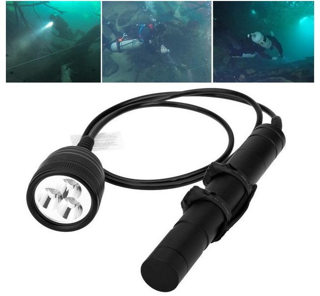 SecurityIng Canister Dive Light