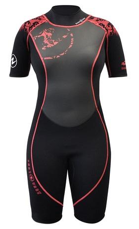 Aqua Lung Women Shorty Wetsuit HydroFlex
