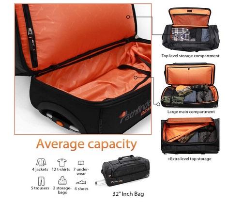 Compartments Dive Bag