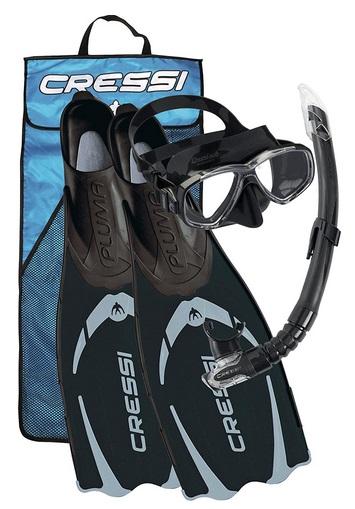Cressi Pluma Premium Flossen Set