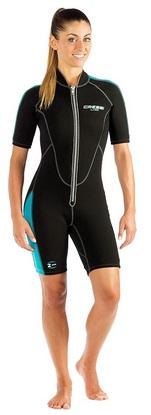 Cressi Women shorty wetsuit 2mm