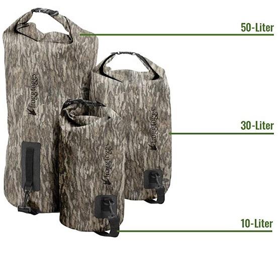 Dry Bag Sizes
