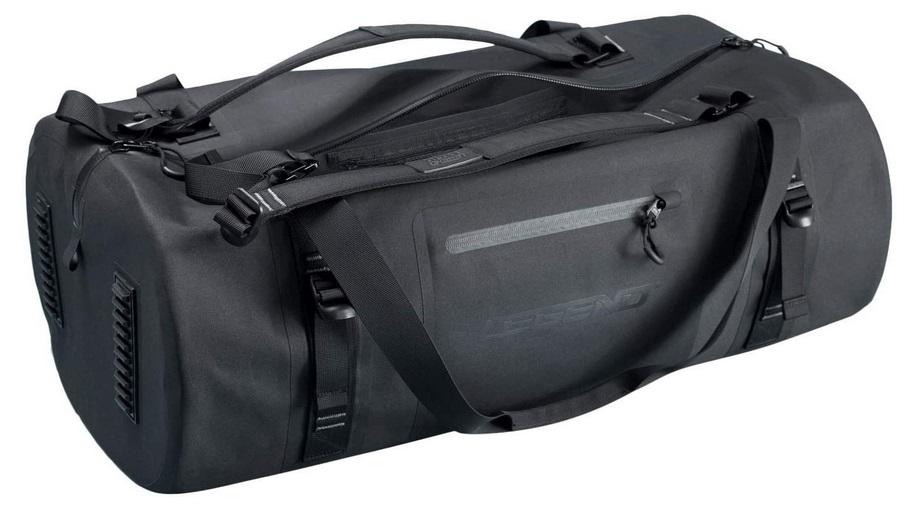 Legend Arctic Dry Waterproof Black Duffel Bag
