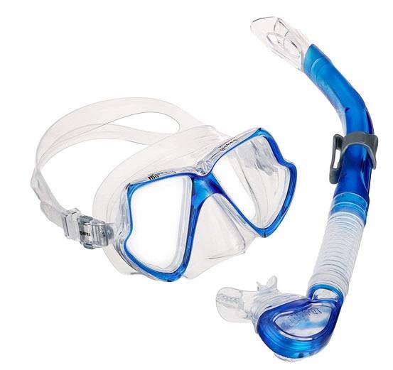 Cressi Professionelles Kombinationsset aus Maske und Schnorchel oder Kit aus ...