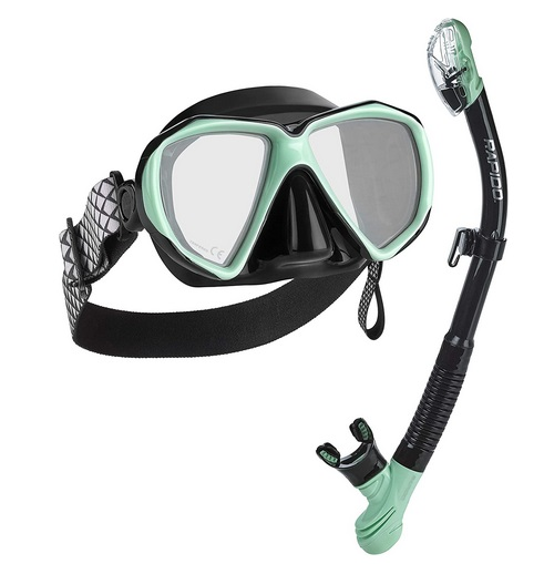 Phantom Aquatics Rapido Mask and Snorkel Set
