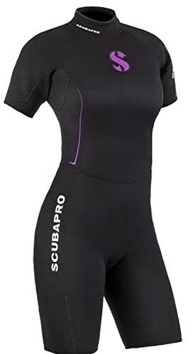 Scubapro Shorty Definition Neoprenanzug für Damen 2.5mm
