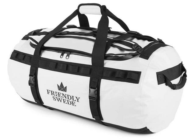 The Friendly Swede Wasserfeste Reisetasche Duffle Bag Rucksack - 30L 60L 90L Seesack
