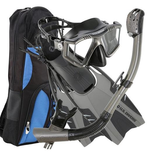 U.S. Divers Lux Platinum Snorkeling Set