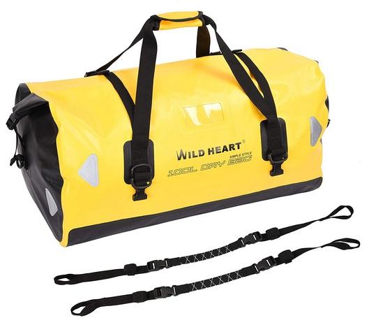 WILD HEART wasserdichte Reisetasche, 40 l 66 l, 100 l