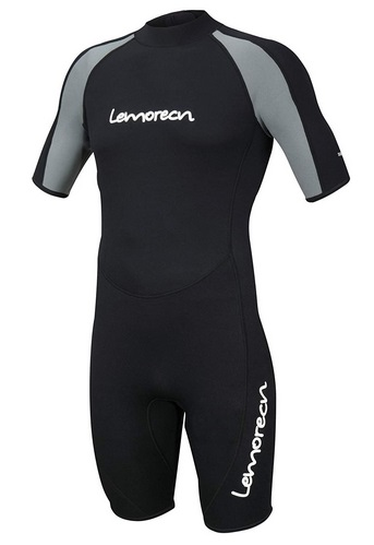 Lemorecn Wetsuits Neoprene Diving Suit 3mm Shorty